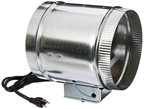 Heat Duct Booster Blower : Tjernlund ef auto automatic duct booster fan