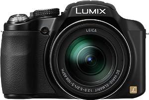 Panasonic Lumix DMC-FZ62EG-K Digitalkamera (16 Megapixel, 24-fach opt. Zoom, 7,6 cm (3 Zoll) Display, Superzoom, Full-HD Video) schwarz