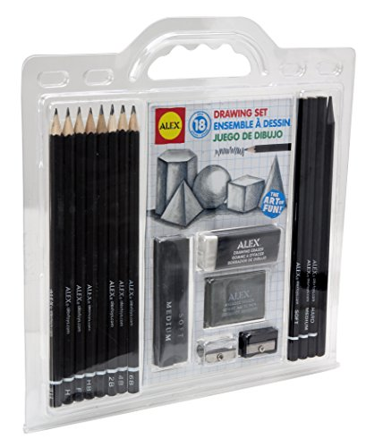 ALEX Toys Artist Studio 18 Piece Drawing Set