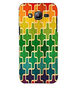 ColourCraft Pattern Design Back Case Cover for SAMSUNG GALAXY J2 DUOS