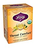 Yogi Teas Throat Comfort, 16 Count (Pack of 6)