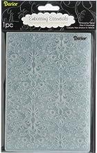Darice - Plantilla para grabar en relieve (12,7x17,8cm), diseño de tejido damasco
