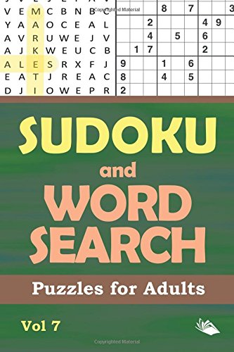 Sudoku and Word Search Puzzles for Adults Vol 7
