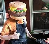 BigMouth Inc Cheeseburger Head Mask