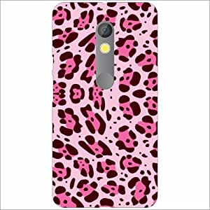 Moto X Play Back Cover - Silicon Pink Designer Cases