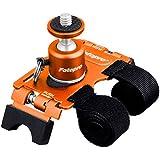 Fotopro カメラ固定具 アクションマンウント AM-802 OR 自由雲台 オレンジ 79494