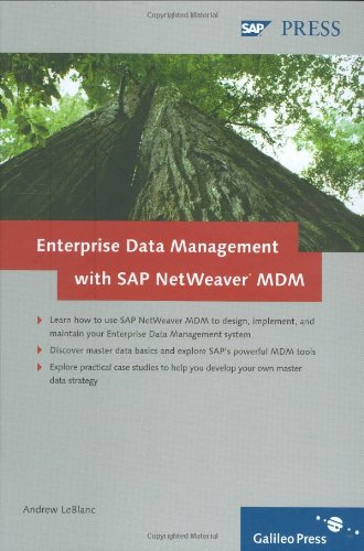 Enterprise Data Management with SAP NetWeaver MDM
