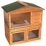 kaninchenstall hasenstall hasenk fig kaninchenk fig m7 116 x 105 x 63 cm haustier. Black Bedroom Furniture Sets. Home Design Ideas