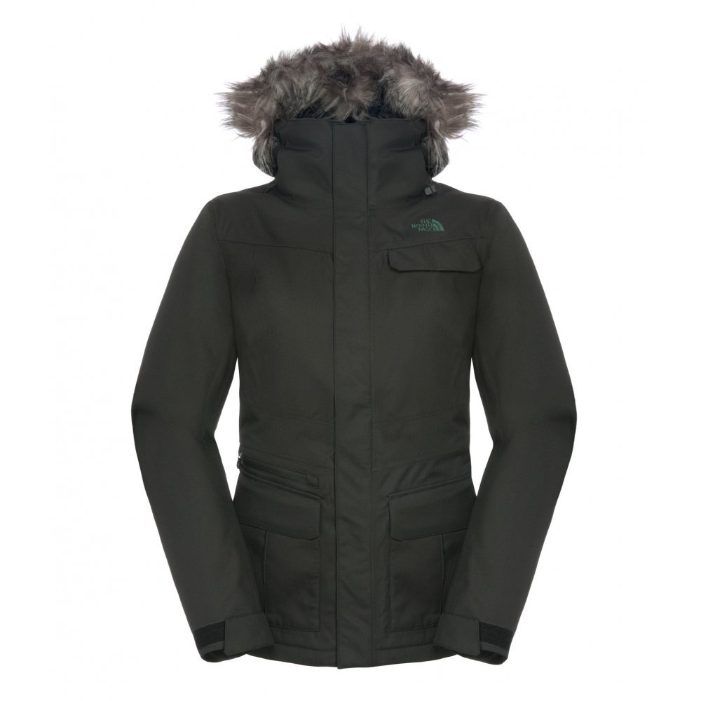 The North Face Women's Baker Delux Jacket tnf black