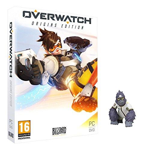 Overwatch Origins - Reserva con Figura Winston Bebé