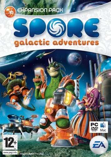 Spore: Galactic Adventures – Expansion Pack (PC and Mac DVD) [import anglais]
