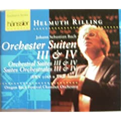 Bach;Orchesral Suites 3&4