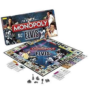 Elvis Presley Monopoly Collector's Edition