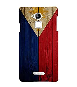 Fuson Premium Back Case Cover Flag design With Multi Background Degined For Coolpad Note 3
