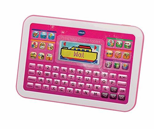 VTech 80-155254 - Preescolar Learning Tablet Color, color rosa (versión en inglés)