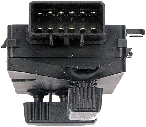 Dorman Power Seat Switch Panel Gray Front LH Left for Buick Chevy GMC Saab