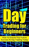 img - for Day Trading for Beginners: How To Ensure Your Future Success At Day Trading Today book / textbook / text book