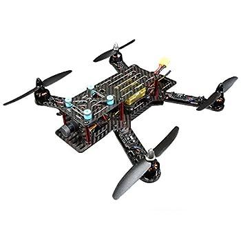 ARRIS FPV250 MINI RCレーサー カーボンファイバークワッドコプターBNF(組立完了)モーター+プロペラ+ESC+飛行安定化装置+カメラ