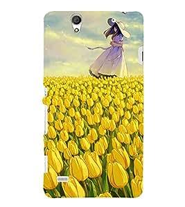 Beautiful Girl 3D Hard Polycarbonate Designer Back Case Cover for Sony Xperia C4 Dual E5333 E5343 E5363 :: Sony Xperia C4 E5303 E5306 E5353