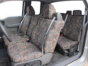 Exact Seat Covers, FD9 CL-C, 2004-2008 Ford F150 Super Cab Complete Front and Rear Seat Set Custom Exact Fit Seat Covers, Conceal Camo Endura