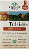 Organic India Tulsi Tea Chai Massala, 18 Count