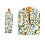 Poler Men's Napsack Wearable Sleeping Bag, Rainbow, Large