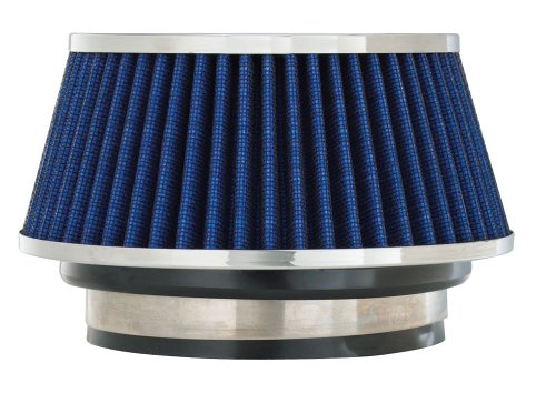 Spectre Performance 8166 Blue Small Cone Air Filter front-635371