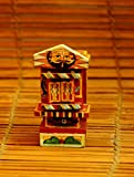 The India Craft House Small Kavad- Painted wood portable shrine (H-4.5