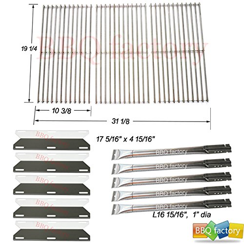 bbq factory Replacement Grill Perfect Flame 5 Burner 720-0522, Charmglow 5 Burner,720-0396,720-0578 Gas Grill Repair Kit