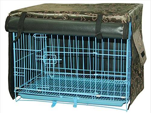 LPET Waterproof Sunscreen Pet Cage Shrouded Drape Windproof Dog Crate Kennels Cover Ventilation Window Open For Animal House (XL) (Insulated Kennel compare prices)