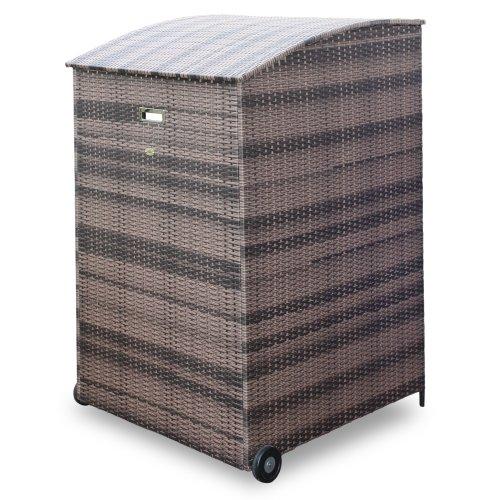 habau m lltonnenverkleidung m lltonnenbox aus polyethylen. Black Bedroom Furniture Sets. Home Design Ideas