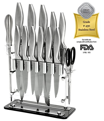top best 5 kitchen knives set with block for sale 2016