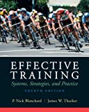 img - for By P. Nick Blanchard Effective Training (4th Edition) book / textbook / text book