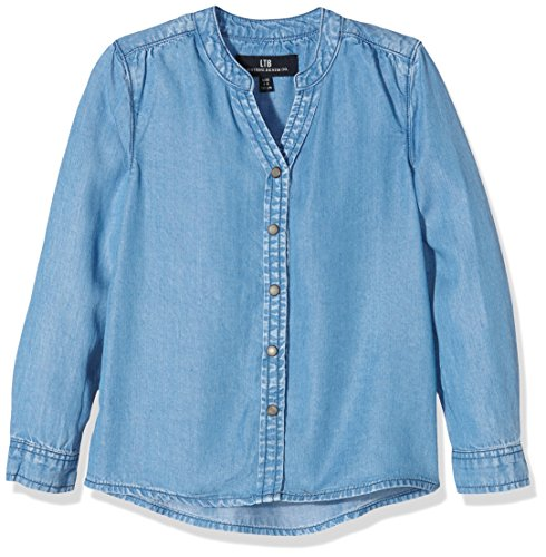 LTB Jeans Senna, Camicia Bambina, Blau (Winter Blue Wash 50020), 6 anni