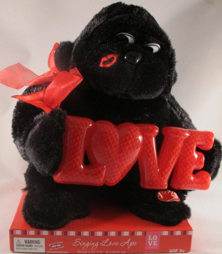 Singing Love Ape....Sings L-O-V-E and Lights Up! - 1