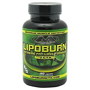 Muscleology Lipoburn CTX Capsules, 0.3 Pounds
