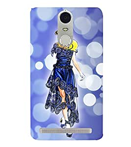 dream girl 3D Hard Polycarbonate Designer Back Case Cover for Lenovo K5 Note :: Lenovo Vibe K5 Note Pro