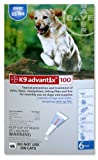 K9 Advantix Flea Control for Dogs Over 55 Pounds, 6 Applications