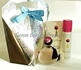Avon Far Away Fragrance Luxury 4 Piece Gift Set Complete With Tissue Paper, Ribbon and Gift Tag