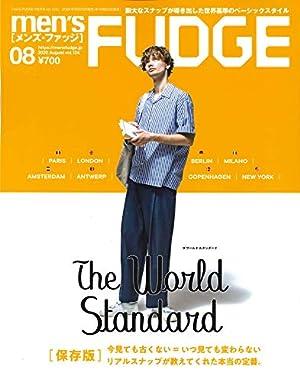 men's FUDGE - メンズ ファッジ - 2020年 8月号 Vol.124