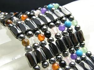 パワーストーン ネックレス/磁気ヘマタイトのぐるぐるネックレス 選べる8種類のパワーストーンのネックレス 天然石の厄除け祈願のお守り メンズ・レディース用/パワーストーン 10P20Sep14 アベンチュリン