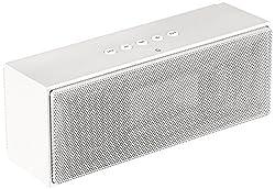 AmazonBasics Portable Bluetooth Speaker (White)