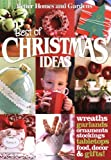 Best of Christmas Ideas (Better Homes & Gardens Cooking) (0470503955) by Better Homes and Gardens