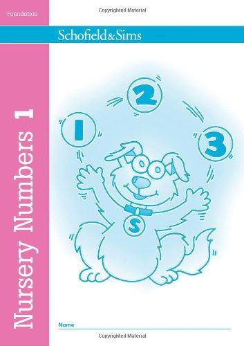 Nursery Numbers Book 1: Bk. 1