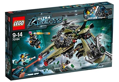 Lego 70164 Ultra Agents Hurrikan-Überfall