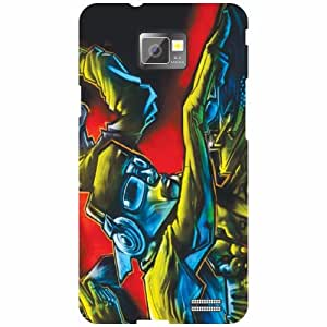 Back Cover For Samsung I9100 Galaxy S2 (Printed Designer)