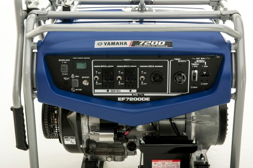 Yamaha ef7200de 6000 running watts 7200 starting watts for Yamaha generator for sale
