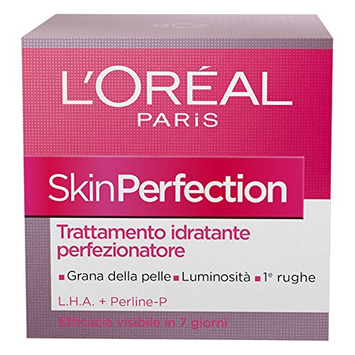 L'Oréal Paris Skin Perfection Crema Viso Idratante Perfezionatore, 50 ml