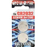 Maxell CR2032, Mainboardbatterie Lithium Knopfzelle 3V, 2er Blister