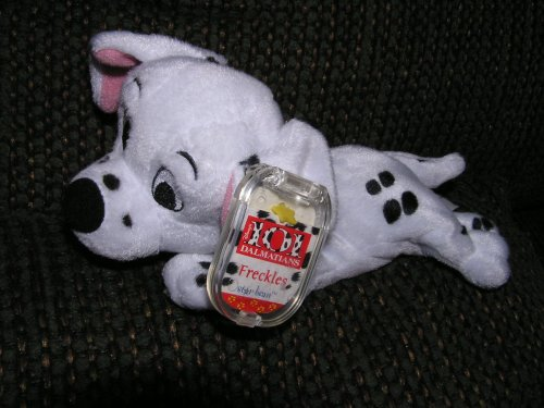 "Disney 101 Dalmatians Plush 8"" Freckles Bean Bag by Star Bean - 1"